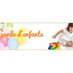 Garde d'enfants, animations, etc