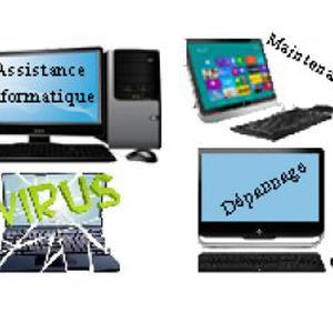 Dépannage d'ordinateurs à domicile à Paris