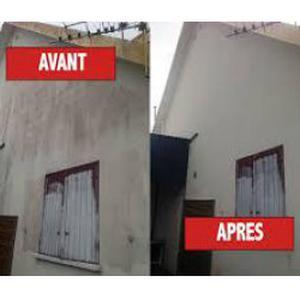 Nettoyage de façades et tous travaux de rénovation