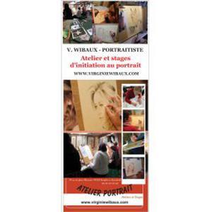 Atelier d'initiation au portrait, dessin, peinture