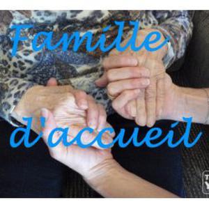 Famille d'accueil agréée cherche une personne âgée