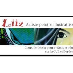 Artiste-peintre, illustratrice donne cours de dessin sur la CUB et Bordeaux