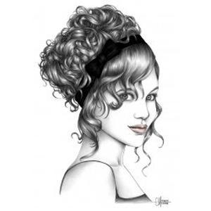 Séverine, coiffeuse à domicile