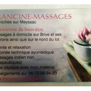 Massage à domicile à Brive