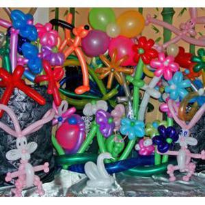 Anniversaire sculpture sur ballons