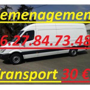 Transport, déménageur fiable à votre service (tarif raisonnable)