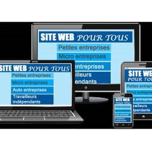 Création site web pour les petites entreprises sur mobile, tablette et PC
