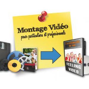 Montage vidéo de vos photos et films sur DVD personnalisé