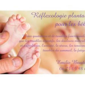 Réflexologie plantaire pour les bébés