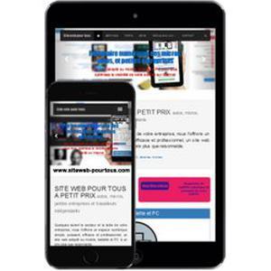 Votre activité sur mobile, tablette et PC à 150 € seulement