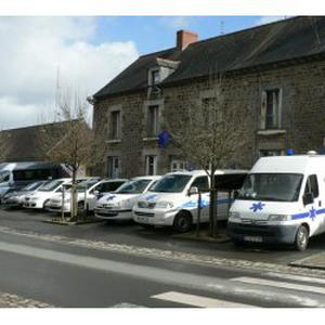 Photo de ambulance taxi bocher