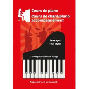 Professeur donne cours de piano/piano-chant