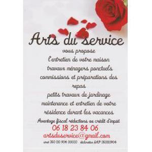 Photo de arts du service