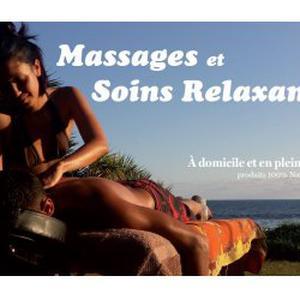 Massage bien-être à domicile et en plein air Ile de La reunion