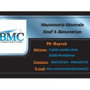 BMC CONSTRUCTION - Entreprise de maçonnerie générale