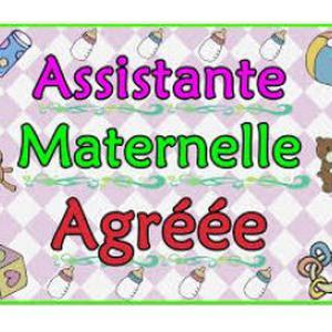 Assistante maternelle dispose d'une place pour 2016