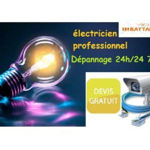 Electricien (Dépannage urgent 7j/7)