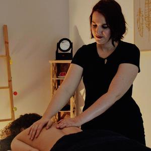 Propose massage à domicile (non sensuel)