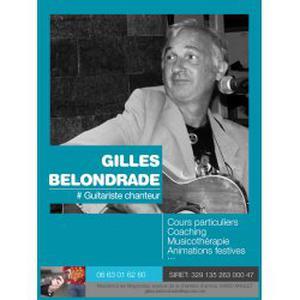 Gilles, 57 ans donne des cours de chant