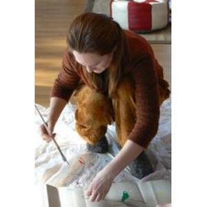 Professeure certifiée en art appliqué donne des cours