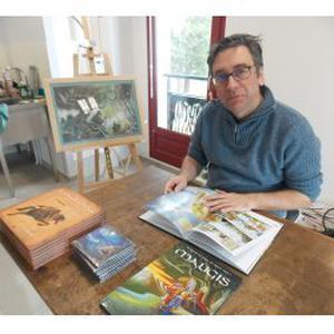 Hervé, 49 ans propose des cours de dessin