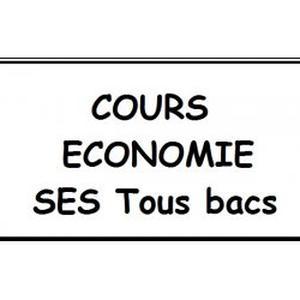 Cours Economie  /  S-E-S