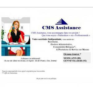 CMS Assistance votre Secrétaire Indépendante