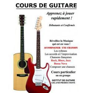 Cours de Guitare - INSTITUT DE GUITARE - Chateaurenard 13160