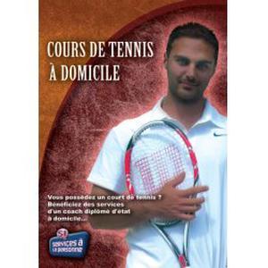 Cours de tennis à domicile