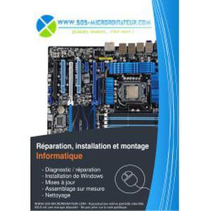 SOS-MICRORDINATEUR - Réparation, installation et montage d'ordinateurs