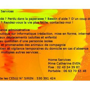 Des services sur mesure