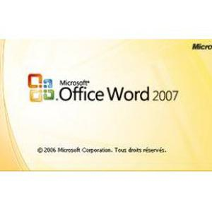 Cours sur Word