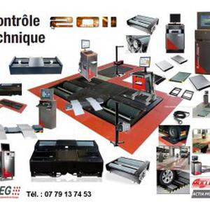 Materiel de controle technique, scanner automobile.