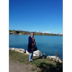 Rachida, 47 ans aide aux seniors