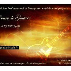 Cours de Guitare Nantes