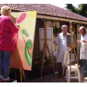 Cours et stages de dessin et peinture par Fabrice LIEBAULT au Vaudreuil