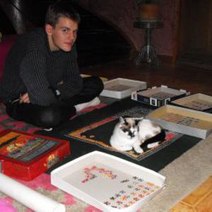 François, 23 ans donne des cours de français