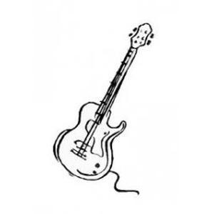 Photo de la guitare à paki