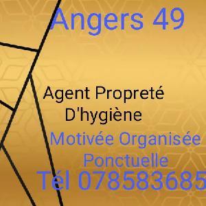Agent de propreté à Angers