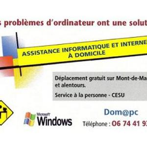 Dom@pc Assistance Informatique