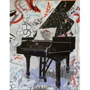 Donne des cours de piano au domicile des élèves
