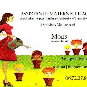 Accueil d'enfants de 0 à 3 ans au domicile de Nounou
