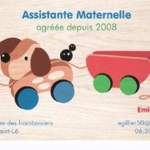 Assistante maternelle agréée sur Saint-Lô - il me reste 1 place