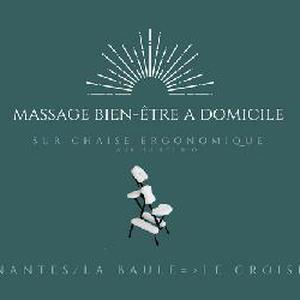 Massage à domicile sur chaise ergonomique Nantes et Presqu'ile Guérandaise