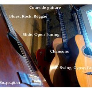 Cours de guitare St Genis Laval et environs