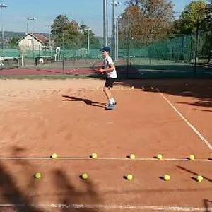 Cours de tennis