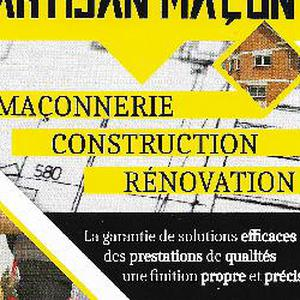 Artisan maçon André Maillet