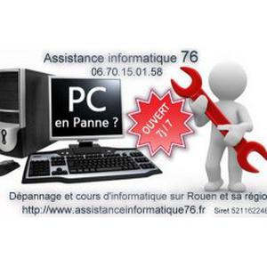 Dépannage informatique à domicile sur Rouen