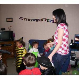 Futur assistante maternelle 3 places dispo en Mai