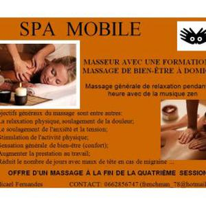 Massage de bien-être à domicile